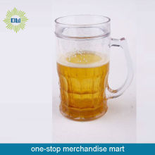 glass beer ice mug