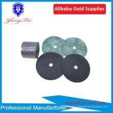 disco de pulido de disco de corte de disco de fibra de resina