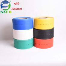 Feibo free samples Shrinkage ratio 2:1 polyethylene PE ID 50mm 1kv heat shrink tubing