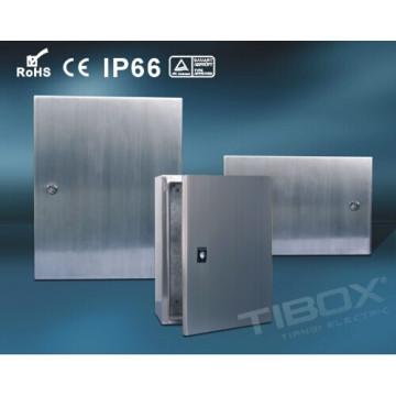 2015 Tibox Stainless Steel Single Blank Door Wall Mount Enclosure