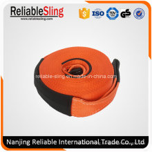 80mmx8t Polyester Auto Car Heavy Duty Tow Strap