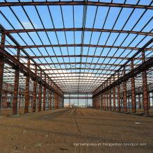 Construção de estrutura de aço para oficina de fábrica