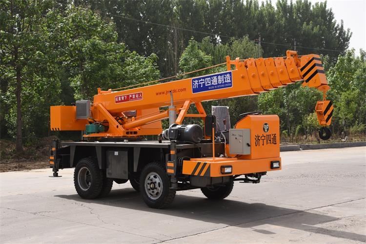 5 ton hydraulic crane