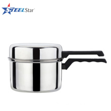 Kitchen stainless steel noodle soup pot with bakelite handle