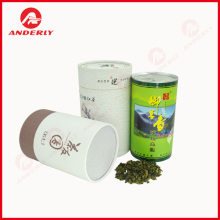 Different Tea Packaging Paper Tubes Composite Cans