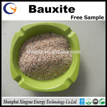 China bauxite Refractory grade 84% calcined bauxite price