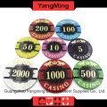 Покерные фишки для покера (YM-CP020-21)