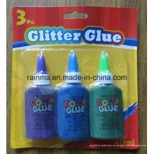 40ml Color Glitter pegamento para la fuente de papelería