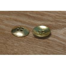 Uma classe de metal personalizado ouro / bronze antigo chapeamento de costura 4 buracos botão de pressão