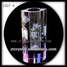 Bonito vaso de cristal L027-A