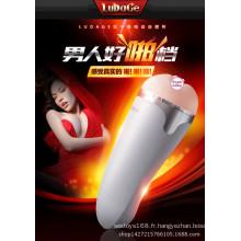Tasse d'avion de jouet de sexe adulte d'utilisation masculine Injo-Fj004