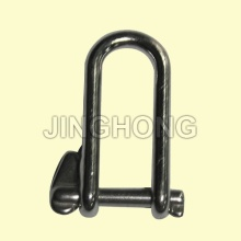 SS: Long Dee Shackle With Single Captive Pin