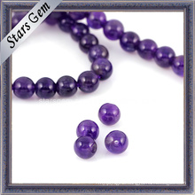 Beautiful Round Bead Natural Amethyst Quartz