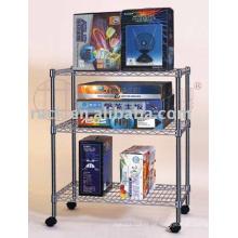Bequemer verstellbarer handelsüblicher Wire Regal Rack für Shop / Shop (CJ-A1049)
