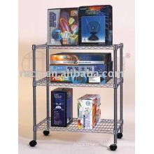 Convenient Adjustable Commercial Wire Shelf Rack for Store/Shop (CJ-A1049)