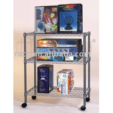 Conveniente prateleira de prateleira comercial ajustável para loja / loja (CJ-A1049)