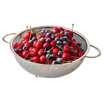 Kitchen Gadgets Basket Strainer Stainless Steel Colander