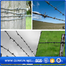 building materials galvanize barbed wire fence spools