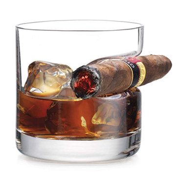 Perfect for Scotch Bourbon and Old Fashioned Cocktails Premium Whiskey Glasses