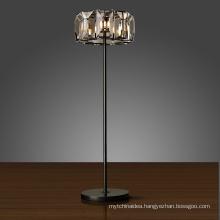 K9 Crystal Beads Modern Crystal Chandelier Floor Lamp