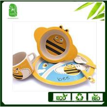 High Quality Bamboo Fibre Children Dinnerware (BC-BB-SU2005)