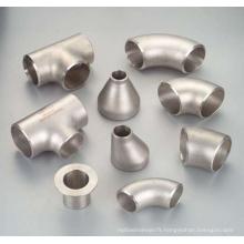 """Haute qualité ASTM B363 GR2 12 """"X SCH10S titane pur coude de 90 degrés pour les raccords de tuyauterie industrielle"""