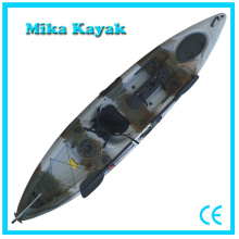 Professional Sit on Top Kayak Fishing Boats Plastic Canoe