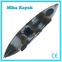 Profissional sentar-se no topo Kayak barcos de pesca canoa de plástico