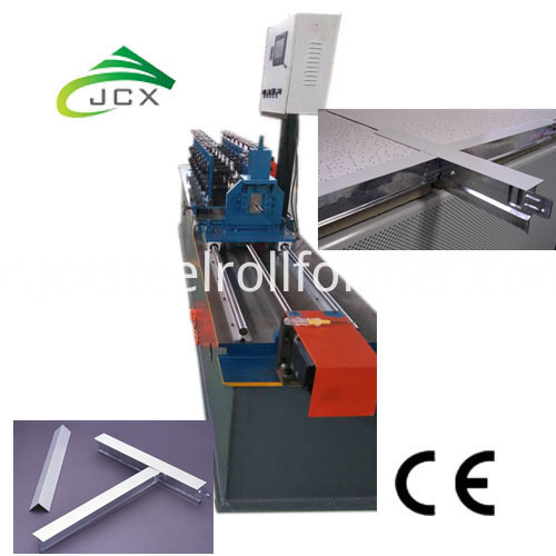Tee Grid Forming Machine