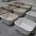 KKR pedra artificial superfície sólida undermount pia da cozinha