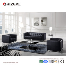 Orizeal nouveau modèle canapé en cuir de bureau de mode à vendre (OZ-OSF008)