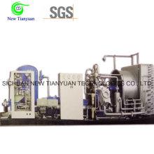Compresseur à gaz naturel CNG à pression de 0,5 à 25 MPa pour les champs de pétrole