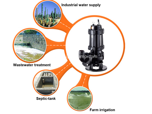Application of sewage submersible slurry pumps