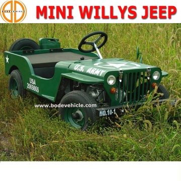 Bode Quality Assured 125CC Willys Jeep for Sale Bc