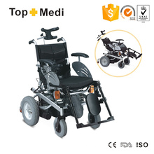 Topmedi Intelligent Outdoor Electric Power Wheelchair with Lamp Light
