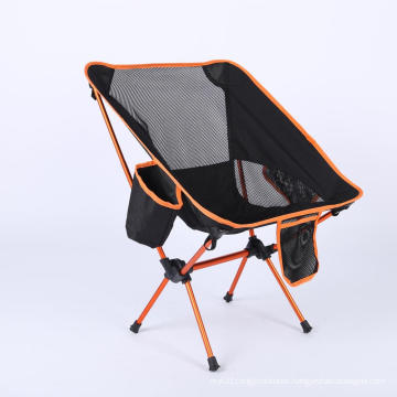 Heavy Duty Aluminum Folding Beach Chair Camping Chair With Cup Holder Foldable Chair