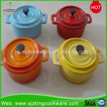 2016 OEM mini enameled cast iron casserole