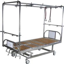 Cama de hospital de marco de tracción ajustable médica de alta calidad