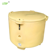 LESP  630L insulated fish box large fish chest plastic live fish holding container
