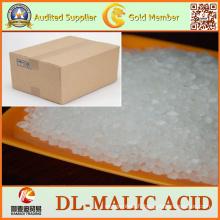 99% d'additifs alimentaires CAS 617-48-1 poudre Dl-acide malique