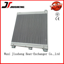 Side by Side Oil Cooler for Screw Air Compressor