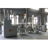 hot sale 20T per day 6FW-20TF corn mazie small scale domestic industrial commercial flour milling machine grinder