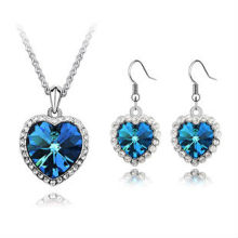 Titanic Necklace Set Fashion Earrings Pendant Necklace PS-001