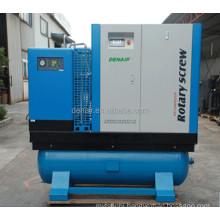 30HP Combined Screw Air Compressor Termasuk Air Tank dan Air Dryer
