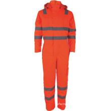Safety Mens Hi-Vis Reflective Work Cargo Overalls