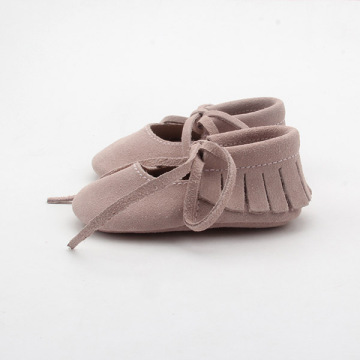 Wholesale Leather Moccasins Baby Shoes Girls