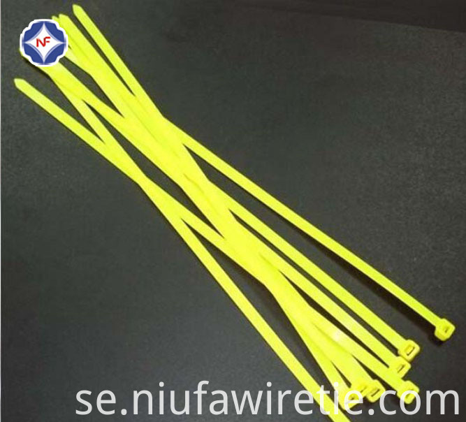 Yellow Cable Tie