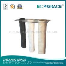 Meios de filtro da fibra de vidro do filtro de saco da fibra de vidro