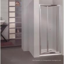 Корпус отеля Ванная комната стеклянная душевая кабина с алюминиевым сплавом