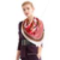 Pure chine en soie tissu robe à main écharpe design écharpe à la mode